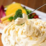 期間限定価格!大人気の天使のチーズフォンデュをお得な食べ放題で♪+1500円で3時間飲み放題付きに!