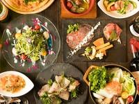 選べる鍋コースをご用意!他にも日替わりピザなど宴会を盛り上げる料理大集合♪各種宴会にもおすすめです!