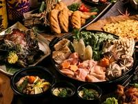3時間飲み放題付 名古屋コーチン料理10品 桃音コース
