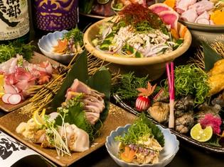 日本三大地鶏と新鮮野菜を使用した『名古屋コーチンの寄せ鍋』