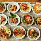 健康的な偏食がコンセプト。自分だけの定食を選べる特別感