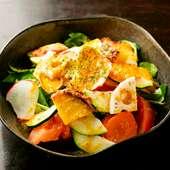 糸島有機野菜サラダ
