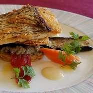 真鯛のポワレ 白ワインソース