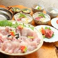 旬の素材を活かした、四季折々の料理をお楽しみいただけますので、接待などにも最適です。
