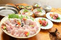 【冬季限定】てっちり・お肉コース 冬の味覚「ふぐのてっちり」と熊野牛を贅沢にお楽しみいただけます。