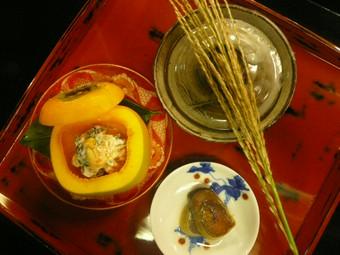 白山麓の四季それぞれの山の食材を使った会席料理でございます。(全室個室・全囲炉裏で焼くお魚付)