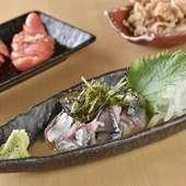 数量限定!九州名物・新鮮な生のサバを使用した『胡麻サバ』