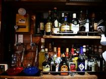 お酒も豊富に取り揃えています