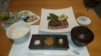 埼玉県産武州鴨と国産ウナギが一度に楽しめるコースです。 前菜盛り合わせや季節のスープ、 選べる季節の焼き野菜に黒毛和牛ステーキ ランプ&ロース食べ比べもついてます。