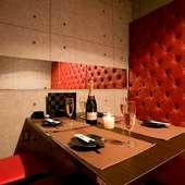 さまざまなシーンでプライベートタイムを満喫できる個室