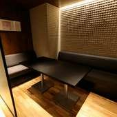ディナータイムのデートなら、2人きりの半個室がおすすめ