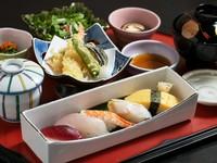 オススメの逸品が贅沢に楽しめる『鮨御膳』はひとつひとつ手づくりされた上品な味わい