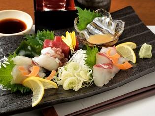 上質な魚介を仕入れ、少しでも鮮度が良い状態で提供する