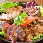 お店の肉料理を贅沢に満喫『artigiano盛り』