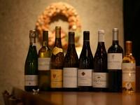 季節食材で彩る料理&天ぷらに合う『日替わりグラスワイン8種』