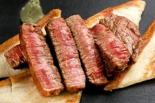 焼き方にとことんこだわった『極上和牛のステーキ』