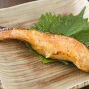 自家製西京みその甘みがたまらない『本日の魚 西京焼き』