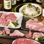 山形牛をはじめ、良質な和牛をリーズナブルな値段で味わえ、コストパフォーマンスの高さが評判。週末は本物の肉の美味しさを体験するために訪れる、子ども連れのファミリーも少なくありません。