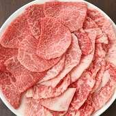 和牛ならではの芳醇な旨味を堪能できる『和牛徳皿』