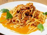お肉の旨味を存分に味わえる、お店のイチオシ『生パスタ』