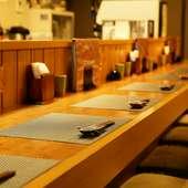ご夫妻での食事や大人世代のデートに。落ち着いて心から憩える店