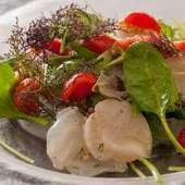 季節に合わせた、本場の食材、地元の食材をイタリア料理で…