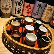 日本酒好きな方から、興味はあるけど未経験な方まで、少しでも多くの方に楽しんで頂けるための取り揃えとスタッフからのご案内を心がけております。