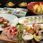 急なお食事、飲み会にぴったりな、お手軽コース! +1650円で飲み放題も付けれます。初めてのご利用に♪