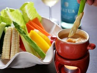 地元野菜をおいしく食べられる『バーニャカウダ』