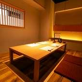 個室のみを用意している別館は、接待や会食などにオススメ