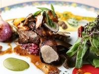 信州蓼科牛のフィレ肉の旨みとトリュフの風味が品の良い『信州牛フィレ肉のロティ、ロッシーニ風』