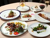 信州産の食材をふんだんに使用した、季節の『ディナーコース』