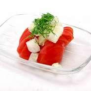 北海の恵みたっぷり 海鮮サラダ