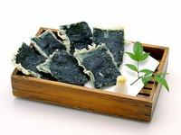 北海の恵みをユッケ風にアレンジしたネタで味わう手巻き寿司☆