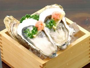 牡蠣の名産地 北海道の厚岸産『真牡蠣ポン酢(2個)』