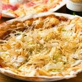 クリスピーピザの新星! お好み焼きをイメージした和風な『下町スペシャル』