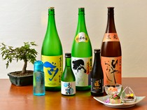 日本各地から厳選。天ぷらによく合う日本酒