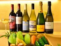 料理に合わせてソムリエがワインをセレクト