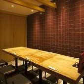 広い個室&贅沢食材たっぷりのコースが上野での接待に人気