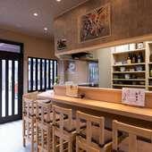 九州と地元・山口の美味しい料理や地酒を堪能できる店