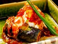 プリッとした食感がたまらない『手づくりXO醤 伊勢海老の陶板焼き』