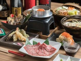 旬の新鮮な魚介や山菜をはじめ、すべての食材を目利きして厳選