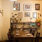 充実した内容のコース料理を囲んで、気の合う友達と楽しい飲み会