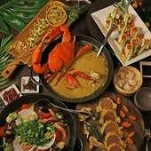 石垣の島料理~世界の名物料理を楽しむオールディダイニング