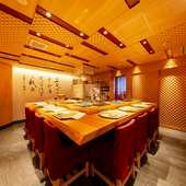 北新地での接待に人気の寿司処。味・空間・もてなしともに大満足