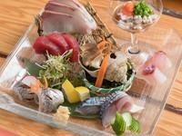 沖縄にいながらも、全国各地の新鮮な魚介を食べられる『刺身』