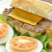 チーズバーガーサンド