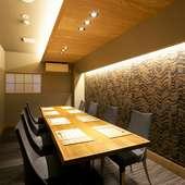 地元福井の旬な食材と豊富な日本酒で大切な人と至福の時を過ごす