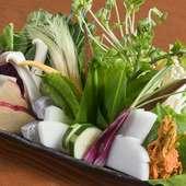 新鮮な旬の恵みを味わえる、甘みと旨みが濃厚な『沖縄県産野菜』