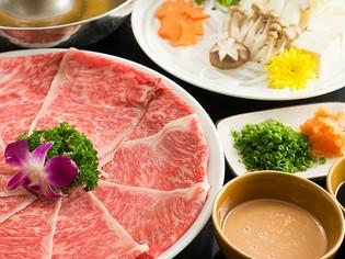 料理長自ら、その品質を見極めて仕入れているA5ランク神戸牛